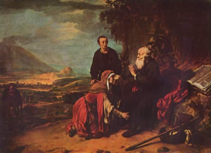 Eeckhout,-Gerbrand-van-den-xx-Der-Prophet-Eliseus-und-die-Sunamitin