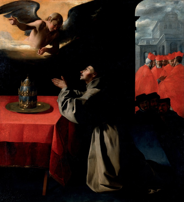 francisco_de_zurbaran_-_the_prayer_of_st-_bonaventura_about_the_selection_of_the_new_pope_-_google_art_project