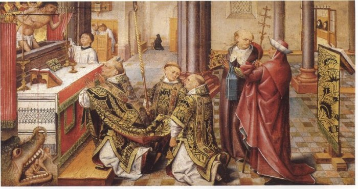 Gregors Messe drache