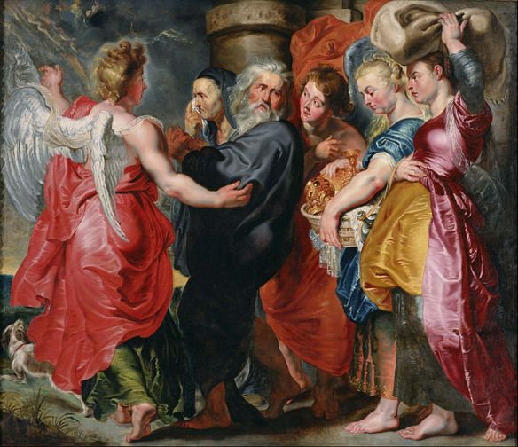 Flucht aus Sodom Jacob_Jordaens_-_The_Flight_of_Lot_and_His_Family_from_Sodom_(after_Rubens)_-_Google_Art_Project