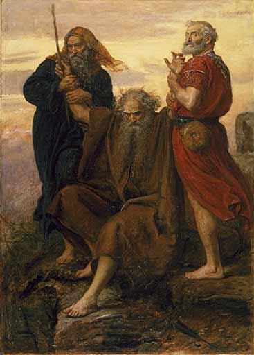 praying Moses
